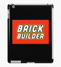 BRICK BUILDER  iPad Case/Skin