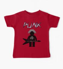 Punk Guitarist Minifig by Customize My Minifig Baby Tee