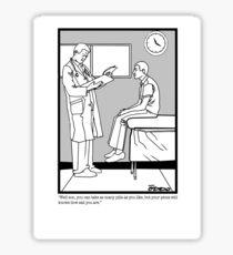 Dr. Office Sticker