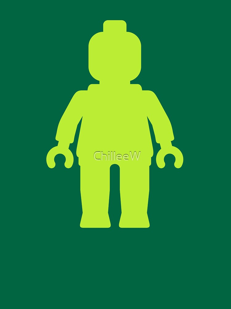 Minifig [Lime Green]  by ChilleeW