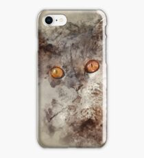 Watercolor Cat iPhone Case/Skin
