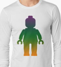 Minifig [Large Rainbow 3] Long Sleeve T-Shirt