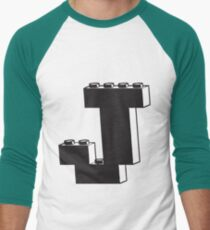THE LETTER J  Men's Baseball ¾ T-Shirt