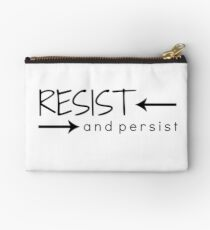Resist and Persist Zipper Pouch