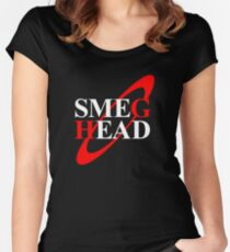 Smeg Head Women's Fitted Scoop T-Shirt