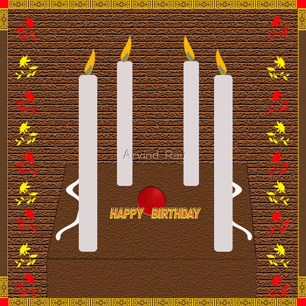 HAPPY BIRTHDAY CARD by Arvind  Rau