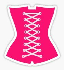 Pink Corsage Sticker