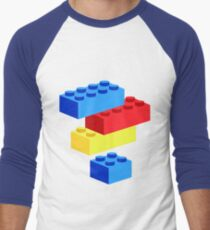 Bricks Men's Baseball ¾ T-Shirt