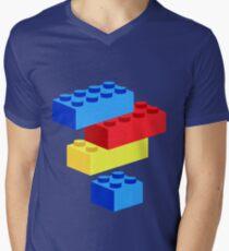 Bricks Men's V-Neck T-Shirt