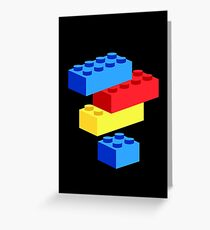 Bricks Greeting Card