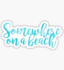 beach trendy sticker summer Sticker