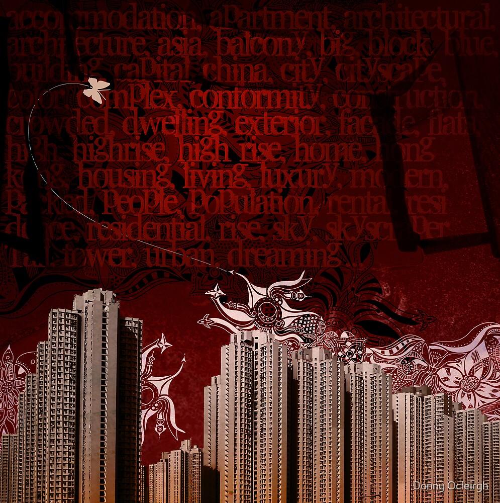 Urban Tagging - Dark City by Donny Ocleirgh