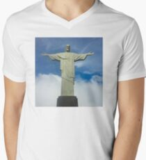 Cristo Redentor Men's V-Neck T-Shirt