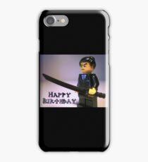 Happy Birthday Greeting Card Japanese Yakuza Gokudō Gangster Custom Minifig iPhone Case/Skin