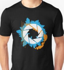 Portal - Abstract Aperture Logo Unisex T-Shirt