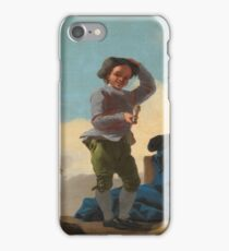 Astillo, Jose Del - Boys Playing Cup-And-Ball iPhone Case/Skin