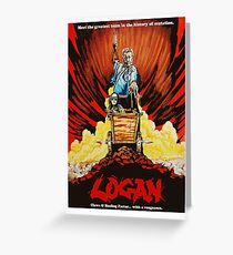Logan Assassin Greeting Card