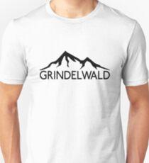 GRINDELWALD SWITZERLAND Mountain Skiing Ski Snowboard Snowboarding Unisex T-Shirt