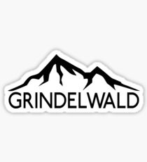 GRINDELWALD SWITZERLAND Mountain Skiing Ski Snowboard Snowboarding Sticker
