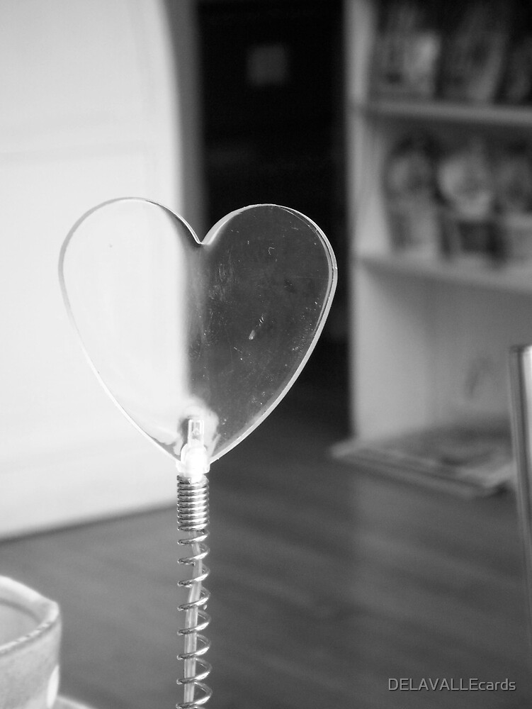 Plastic Heart by DELAVALLEcards