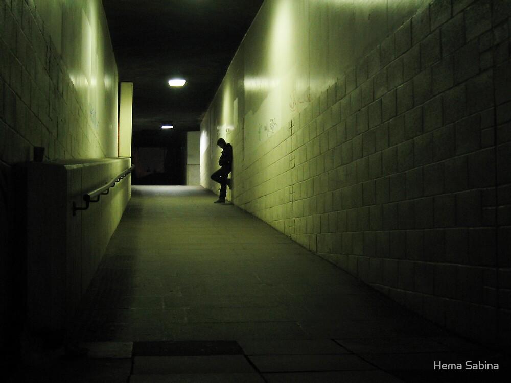 Urban Solitude 05 by Hema Sabina