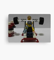 Lego Gym Canvas Print