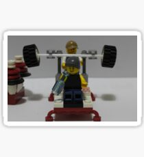 Lego Gym Sticker