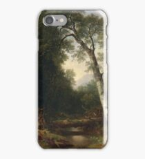 Asher B. Durand - A Creek In The Woods iPhone Case/Skin