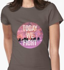 Today We Fight (Circle) - Bangtan BTS Womens Fitted T-Shirt