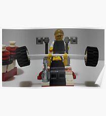 Lego Gym Workout Poster