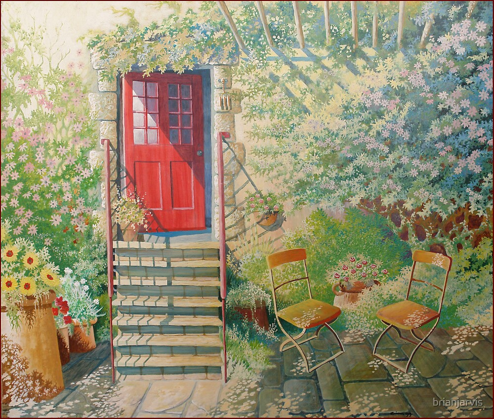 A sunny Courtyard. by brianjarvis