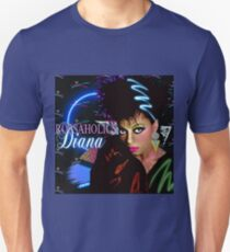 DIANA ROSSAHOLICS: NEW WAVE-PUNK ROCK (80'S RETRO BUST) Unisex T-Shirt
