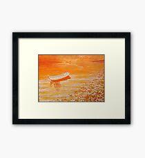 Lake Tranquil. Framed Print
