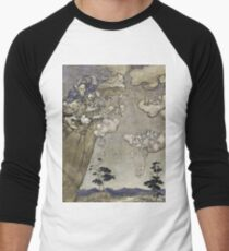 Arthur Rackham - An Illustration To Rip Van Winkle  They Were Ruled By An Old Squaw Spirit... Men's Baseball ¾ T-Shirt