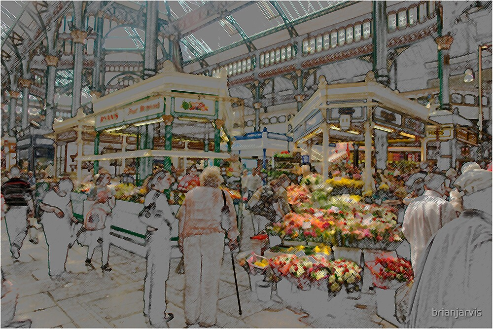 Leeds Market. by brianjarvis