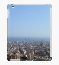 Barcelona Stadt iPad-Hülle & Klebefolie