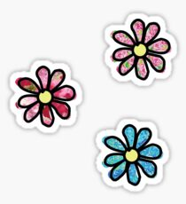 Flower - 3 Pack Floral Sticker