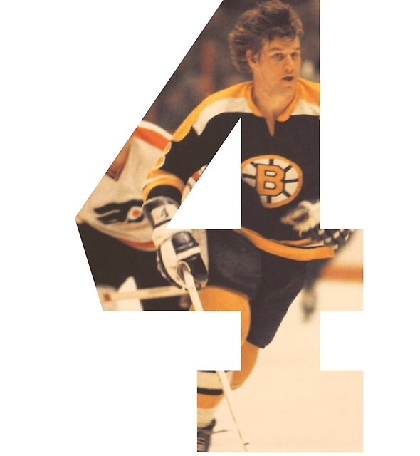 #4 - Bobby Orr by spencerwd
