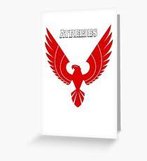 Atreides Hawk Greeting Card