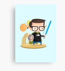 Geek Canvas Print