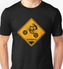 Supermoto Racing Road Sign Unisex T-Shirt