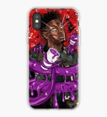 21 Savage Leaned Out iPhone Case
