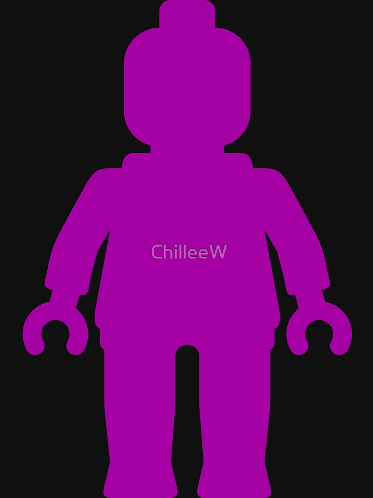 Minifig [Large Purple]  by ChilleeW