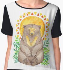 Sun Bear Chiffon Top