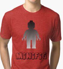 Minifig [Silver] Tri-blend T-Shirt