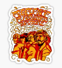 Creedence Clearwater Revival, CCR Sticker