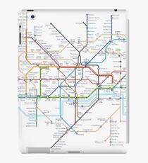 London Underground Tube Map of Anagrams iPad Case/Skin