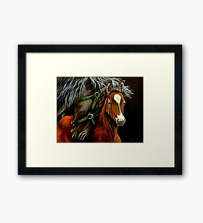 Nuzzles #2 Framed Print
