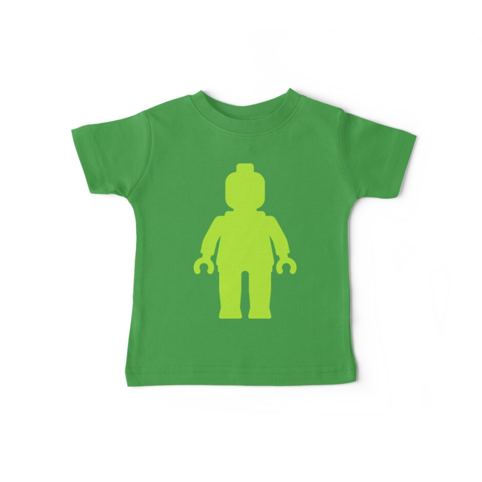 Minifig [Large Lime Green]  by Customize My Minifig