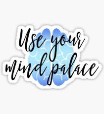 Sherlock - Use your mind palace Sticker